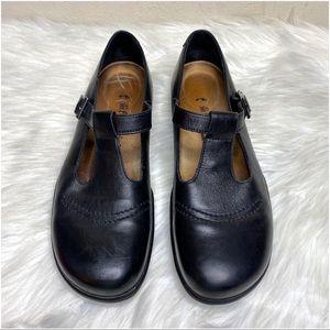 Footprints by Birkenstock Maryjane Black Leather